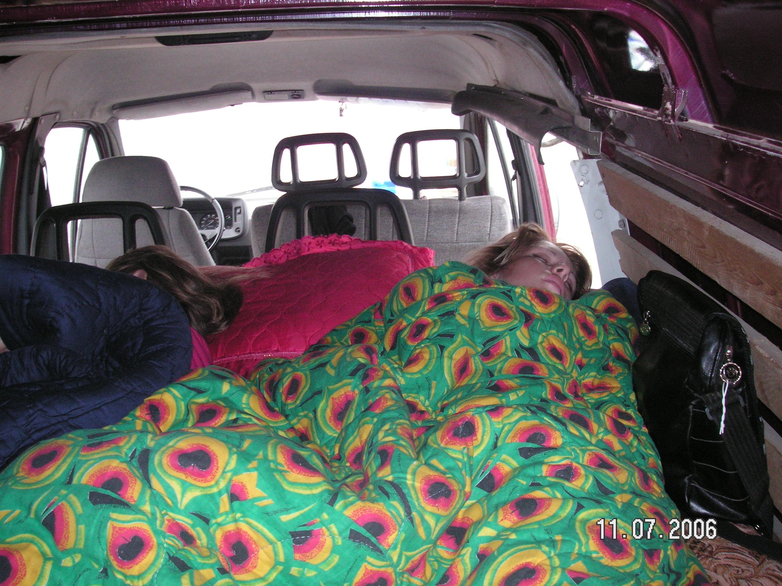 Газель со спальным местом фото