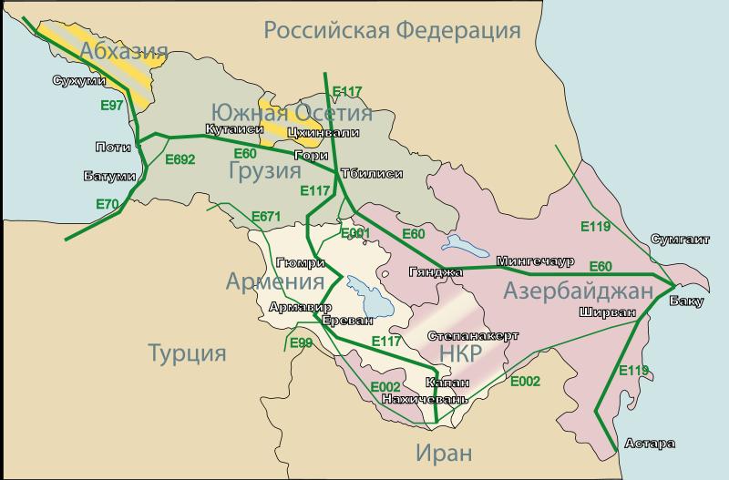 Трасса А-161 Владикавказ – Грузия состояние дороги
