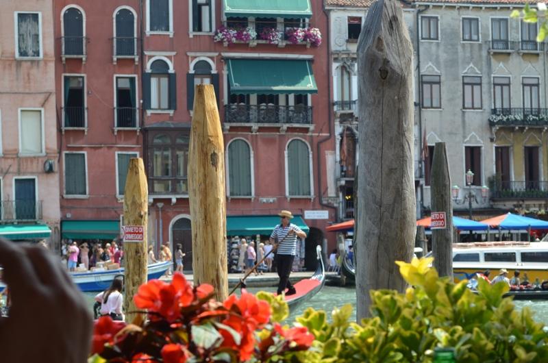 расстояние от венеции до рима: