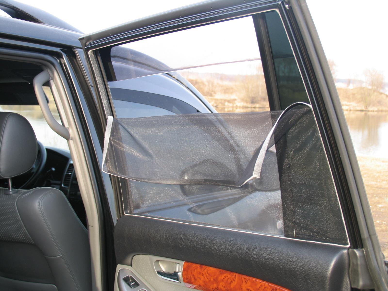 Шторки на окна в авто своими руками