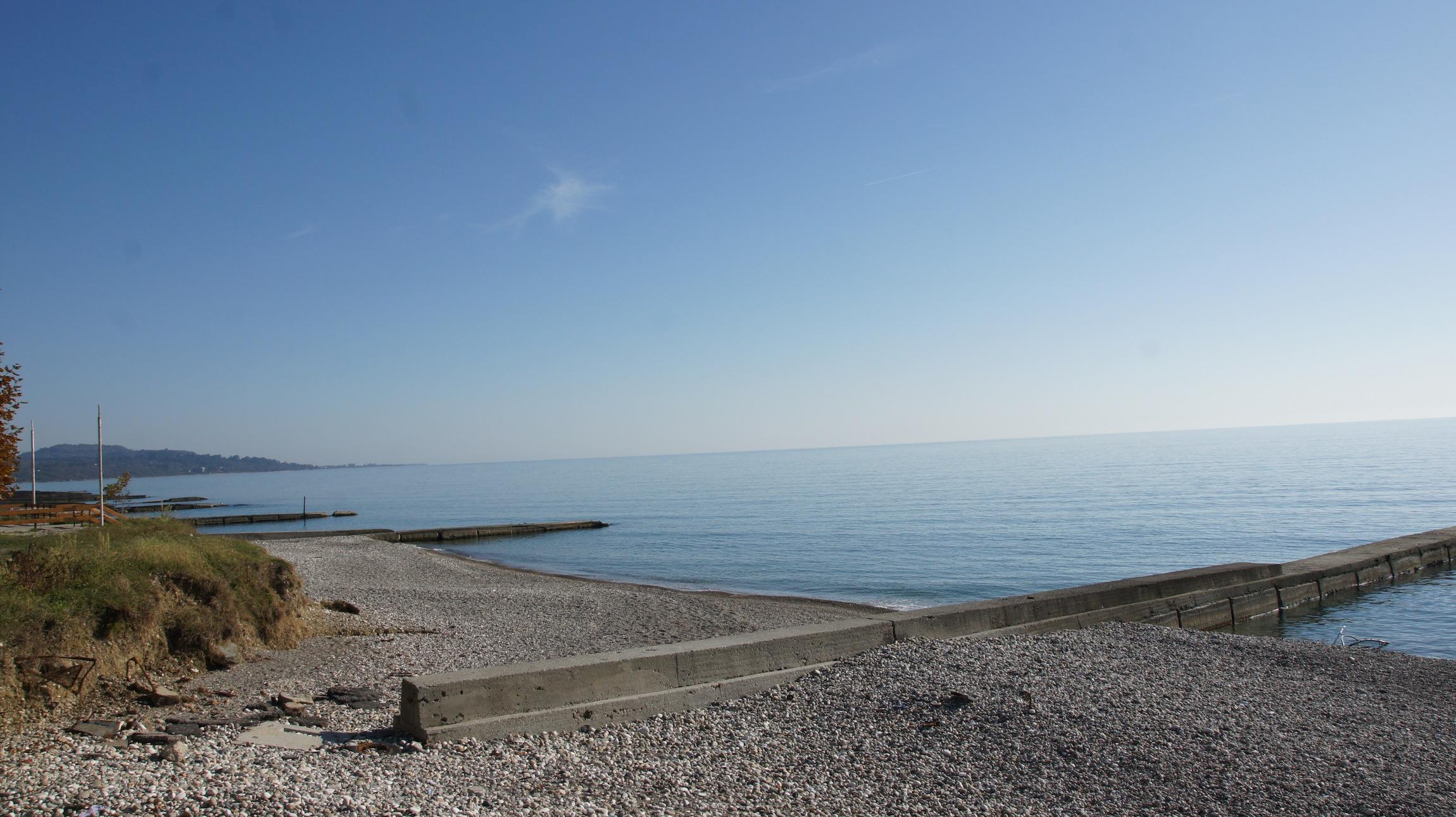 новый афон пляж фото