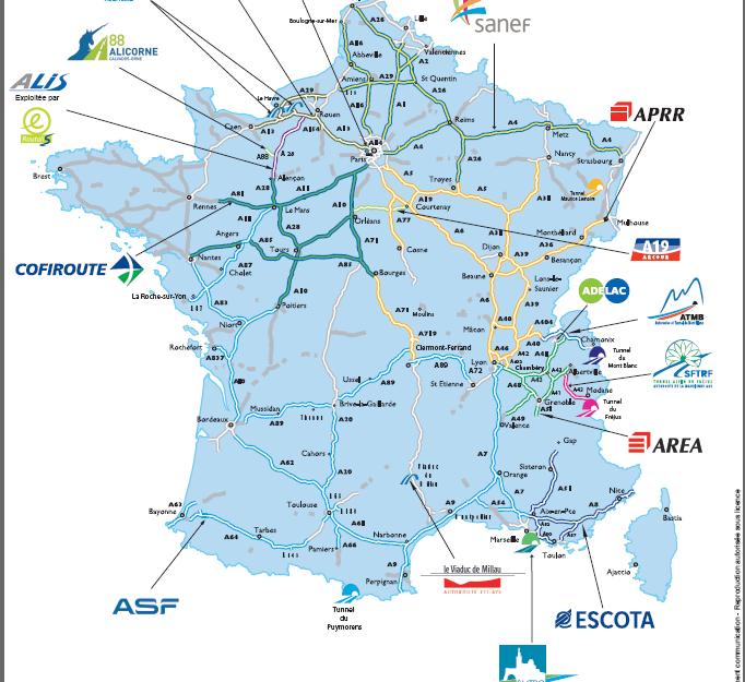 Платные дороги во Франции. Все