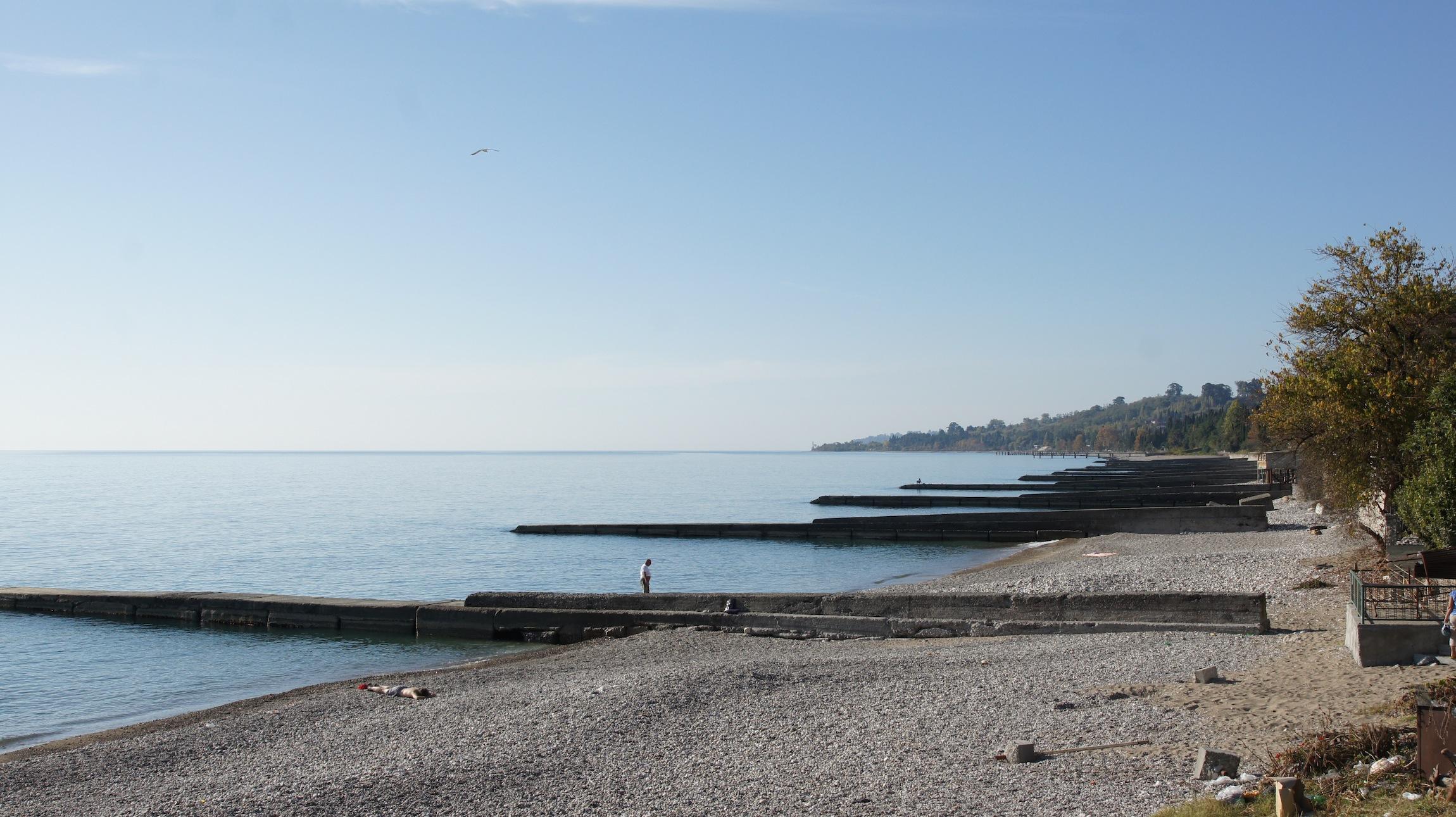 Абхазия фото новый афон пляжи