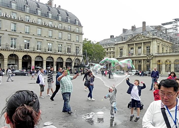 по улочкам Парижа,
